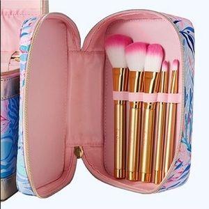 New Lilly Pulitzer Makeup Brush Set